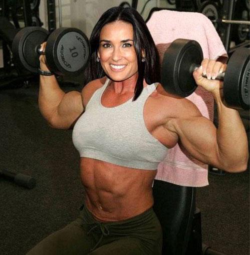 Фитнес леди
