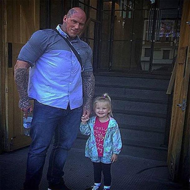 Мартин с дочкой