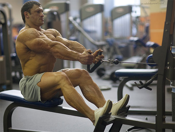 Андрей Сорокин тренировка