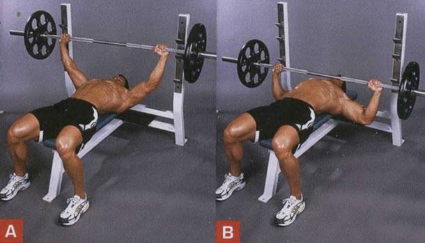 Упражнение на грудные мышцы в тренажерном зале