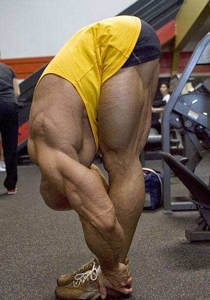 Тянем мышцы