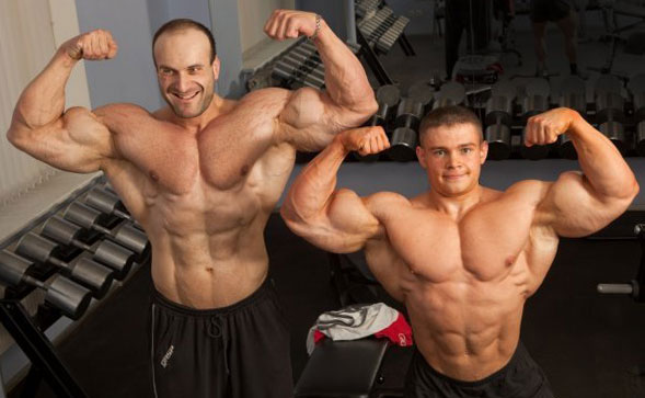 Качки на стероидах