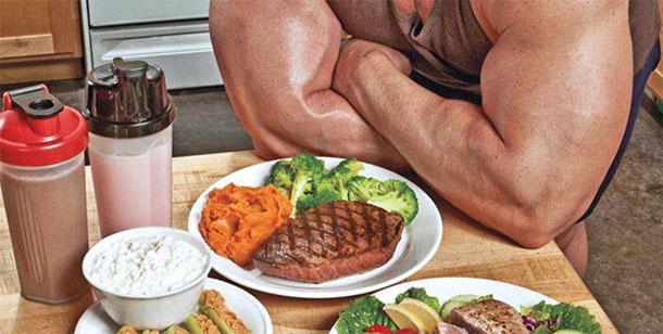 Правильная еда для атлета